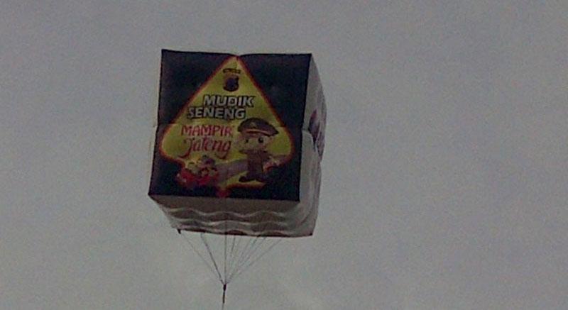Contoh Balon Udara UntukPromosi