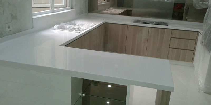 Pembuatan Top Table Solid Surface
